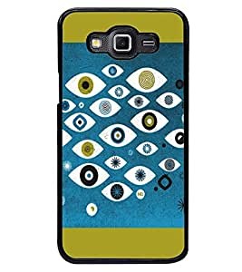 PRINTSWAG EYES Designer Back Cover Case for SAMSUNG GALAXY GRAND 3