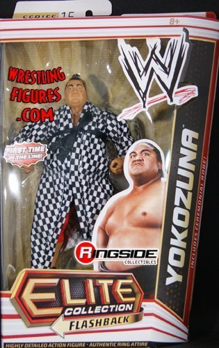 YOKOZUNA - ELITE 15 WWE TOY WRESTLING ACTION FIGURE by Wrestling [parallel import goods] (Yokozuna Action Figure compare prices)