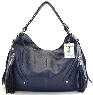 """SAC-DESTOCK - Sac à Main CUIR """"Grainé"""" - Réf: PICADILLY / Nouvelle Collection / Promotion / Handbag Leather"""