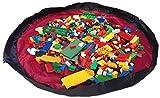 Alfombra de juegos para niños y bolsa para almacenar juguetes de Bow-Tiger? - Alfombra de actividades multiuso que se transforma en un organizador portátil de juguetes. ¡Asegúrate de que tu hijo la esté pasando bien sin tener que preocuparte después