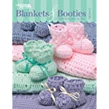 Leisure Arts-Blankets & Booties, Book 2