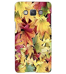 SAMSUNG GALAXY A5 FLOWERS Back Cover by PRINTSWAG