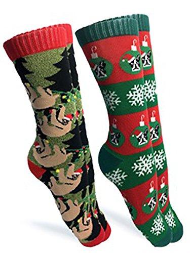 Holiday-Sloth-and-Dog-Socks