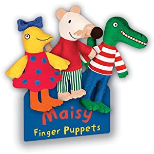 MOUSE Set of 3 FINGER PUPPETS Maisy, Tallulah & Charley: Toys & Games
