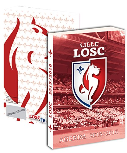 Agenda scolaire LOSC 2015 / 2016 – Collection officielle LILLE OLYMPIQUE SPORTING CLUB – Rentrée scolaire