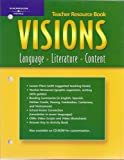 img - for Visions A Teacher Resource Book: Language, Literature, Content book / textbook / text book
