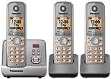 Panasonic KX-TG6723EM DECT Phone 3-Pack