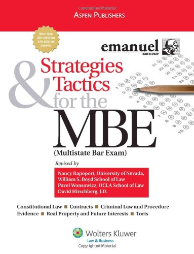 Strategies & Tactics for the MBE