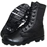 KRAZY SHOE ARTISTS SHOE ARTISTS COMBAT Jungle Boot Men in Black