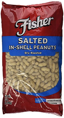 5 Lbs. Fisher Dry Roasted Peanuts (Peanuts Fisher compare prices)