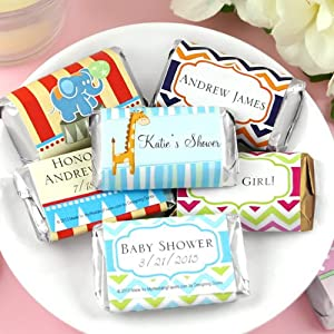 personalized assorted hershey 39 s mini baby shower favors