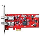 TBS6902 DVB S2 サテライト デュアル チューナー PCIe カード ランキングお取り寄せ