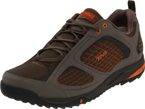 TEVA Royal Arch Water Proof Shoe Men's Shoes, Brown / Orange, UK6