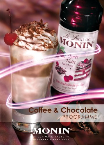 Monin Black Forest Syrup 1 ltr