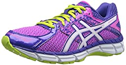 ASICS Women\'s Gel-excite 3 Running Shoe, Pink Glow/White/Blueberry, 8.5 M US