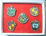 Harry Potter Hogwarts House crests 5-pin set