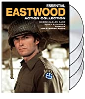 Essential Eastwood Action Collection Firefox Heartbreak Ridge Kellys Heroes Where Eagles Dare by Warner Home Video