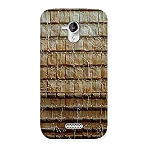 Stylish Wall Back Case Cover for Micromax Canvas HD A116