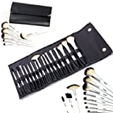 FASH Professional goat hair makeup Brush Set with Faux Leather Pouch, 16-Piece , For Eye Shadow, Blush, Eyeliner.......by FASH Limited