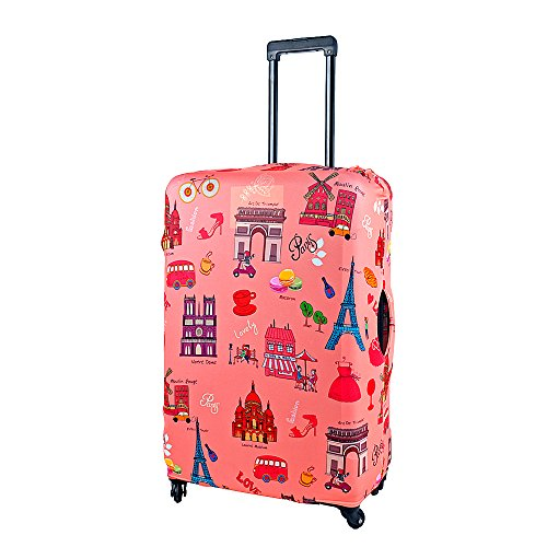 l-size-pairs-famous-building-travel-luggage-suitcase-trolley-case-protective-cover-fits-26-30-inch-l