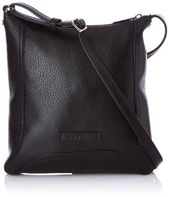 Esprit Women's Beth Smllshldbg Cross-Body Bag Black Noir (001 Black) Taille Unique