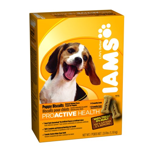 Iams Proactive Health Puppy Biscuits 2.6 Lbs.
