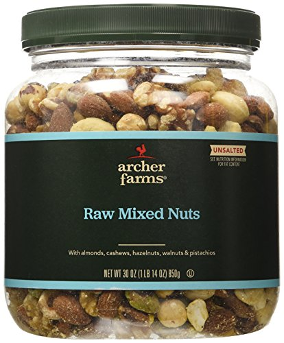 Raw Mixed Nuts Unsalted - 30 oz. (Mixed Raw Nuts compare prices)