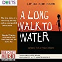 A Long Walk to Water Audiobook by Linda Sue Park Narrated by David Baker, Cynthia Bishop
