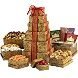 Broadway Basketeers Ultimate Happy Birthday Gourmet Gift Tower