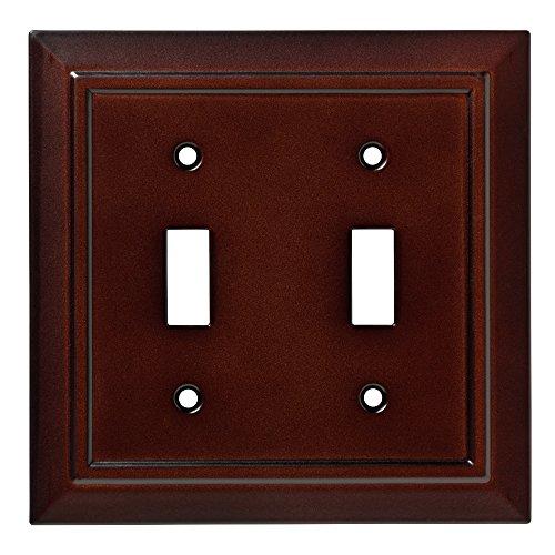 Franklin Brass W35244-ESO-C Classic Architecture Double Switch Wall Plate/Switch Plate/Cover, Espresso (Espresso Wall Plate compare prices)