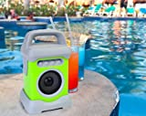 Ivation Bluetooth Waterproof Wireless Speaker for Music Radio & Podcasts - Perfect in Shower at the Beach Bath or Poolside for Android iPhone iPod and other Mp3 Players - Purple