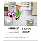 Amazon Gift Card - E-mail - Hoops and Yoyo Missed Your Birthday (Animated) [Hallmark] image
