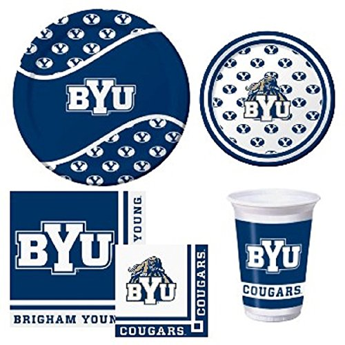 BYU Cougars Tailgate Party Pack - Service for 8