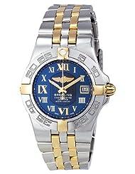 Inexpensive!! Breitling Women's B71340L2/C779TT Galactic 30 Blue Dial Watch
