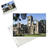 Photo Jigsaw Puzzle of Fountains Abbey, UNESCO World Heritage Site, near Ripon, North Yorkshire from Robert Harding