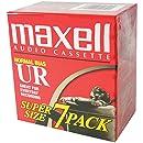 Maxell UR-90 Blank Audio Cassette Tape - 7 Pack (108575)