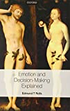 img - for Emotion and decision making explained book / textbook / text book