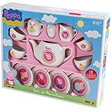 Smoby 7600024254 - Peppa Pig Tea Set Porcellana