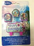 disney frozen birthday candle set frozen