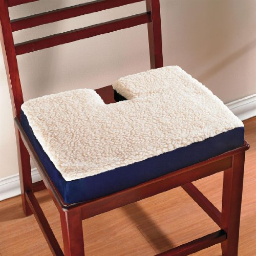 Cheap Plus+Size Living BrylaneHome Coccyx Gel Cushion (BLUE,0) (B005MPOK9A)