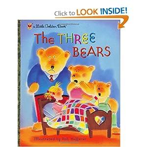 The Three Bears (Little Golden Book)