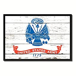 US Army 1775 Military Shabby Chic Flag Gift Ideas Home Decor Office Wall Art Canvas Print Picture Frames 13\
