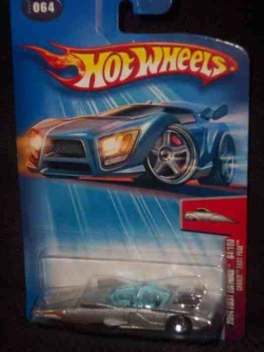 2004 First Editions -#64 Crooze Fast Fuse 5-spoke #2004-64 Collectible Collector Car Mattel Hot Wheels