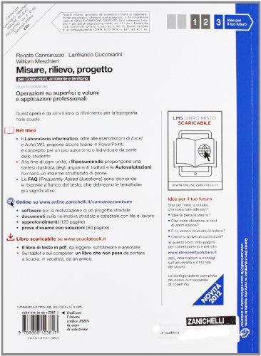 Libro misure rilievo progetto con espansione online for Progetto online