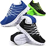 Mens Air Shock Absorbing Light Weight Jogging Running Walking Trainers Gym Shoes Size