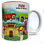 11oz Ceramic Coffee Tea Mug With Pune Theme