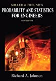 Miller & Freunds Probability and Statistics for Engineers (8th Edition)