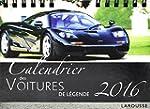 Calendrier des voitures de l�gende 2016