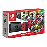 Nintendo Switch - Super Mario Odyssey Edition (Physical Game) Bundle (Color: Red)