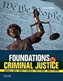 img - for Foundations of Criminal Justice book / textbook / text book